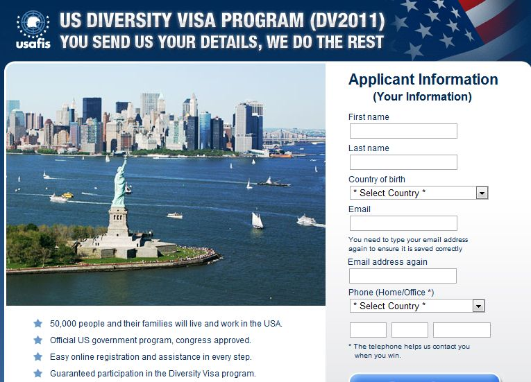 US Diversity Visa Program – 2011 az álszentség diadala