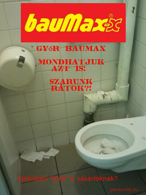 Baumax wc Győr napiszar