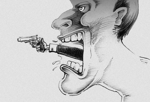 A világ legveszélyesebb fegyvere: SZÁJ!  A világ legjobb békéltetője: SZÁJ!